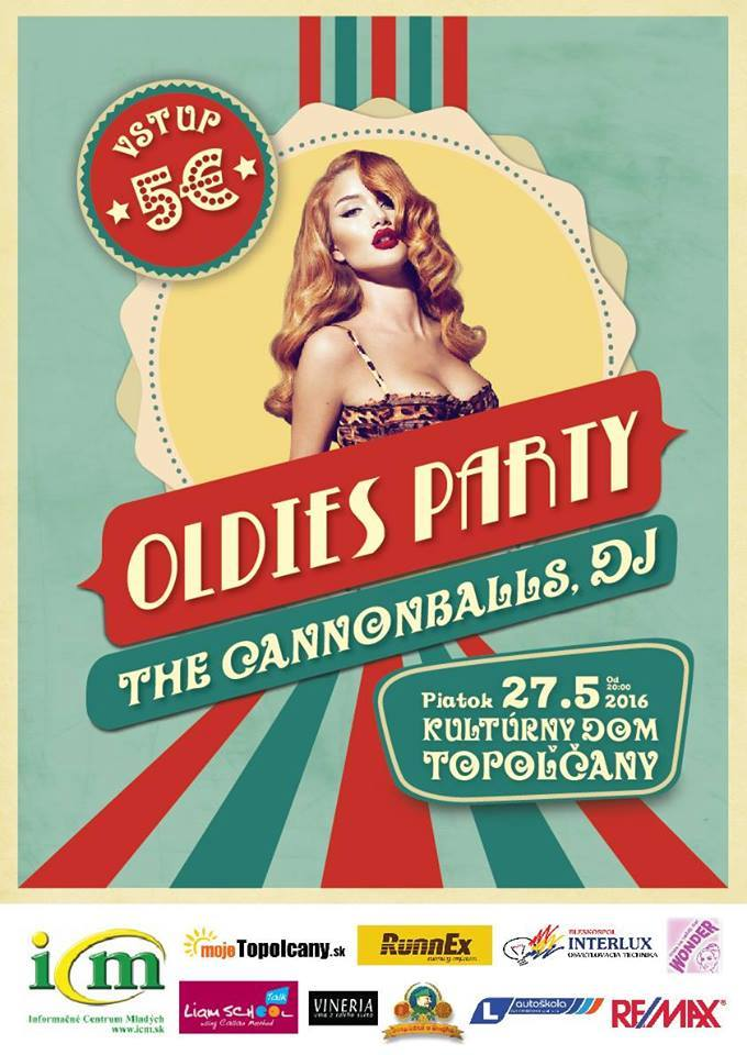 2dcb7ee6a Oldies Party 2016 - Kam v meste | moje Topolcany