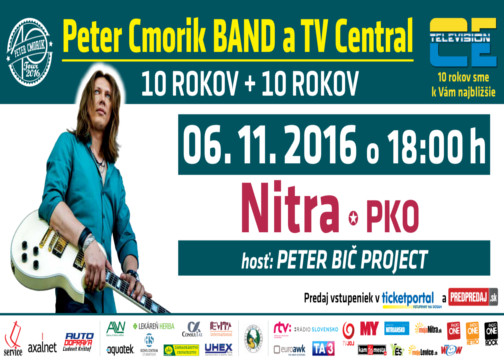 Peter Cmorik Band 10 rokov na scéne 7d91ba69414