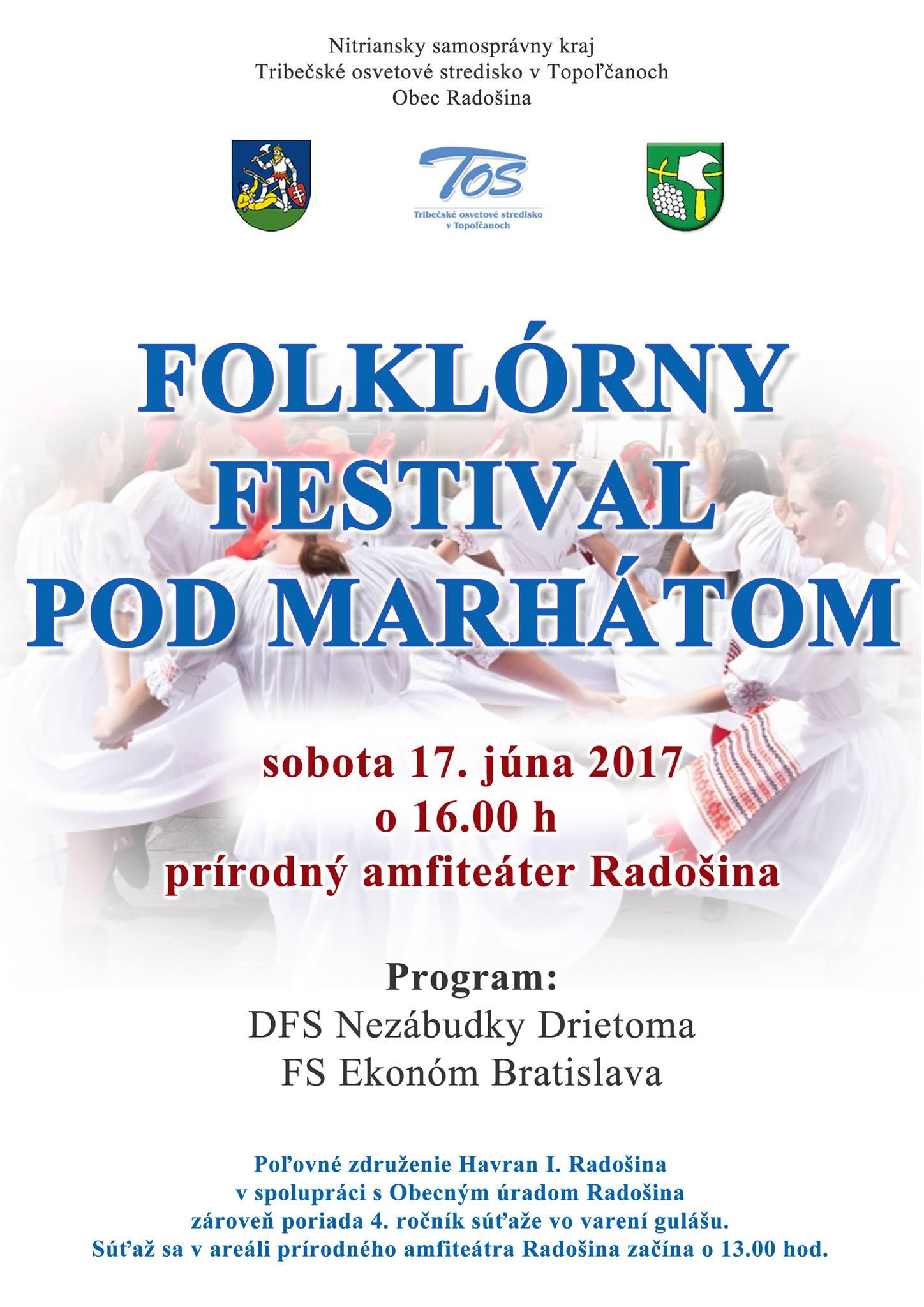 214d8f93f Folklórny festival Pod Marhátom - Kam v meste | moje Topolcany